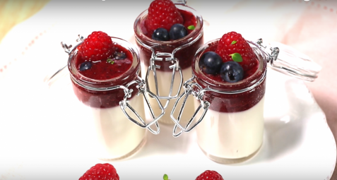 PANNA COTTA FRUITS ROUGES COCO