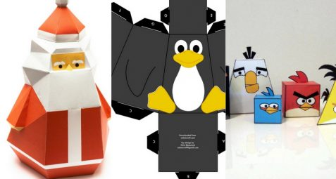 Paper toys : un Do It Yourself ludique à faire avec les enfants