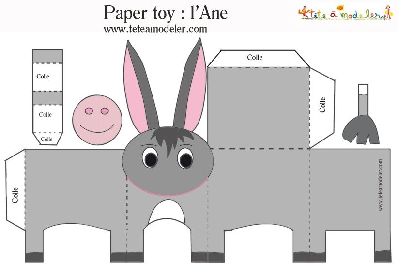 paper toys imprimer colorier animaux star wars pokemon no l. Black Bedroom Furniture Sets. Home Design Ideas