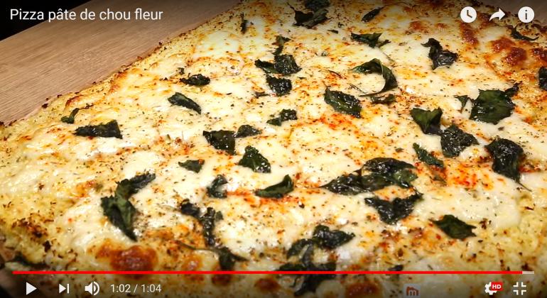 Recette vidéo: Pizza light pâte chou fleur | Ma Maison avec Beko