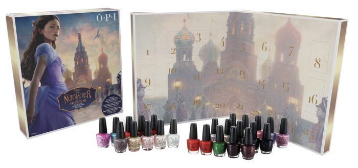 calendrier 24 vernis a ongles opi