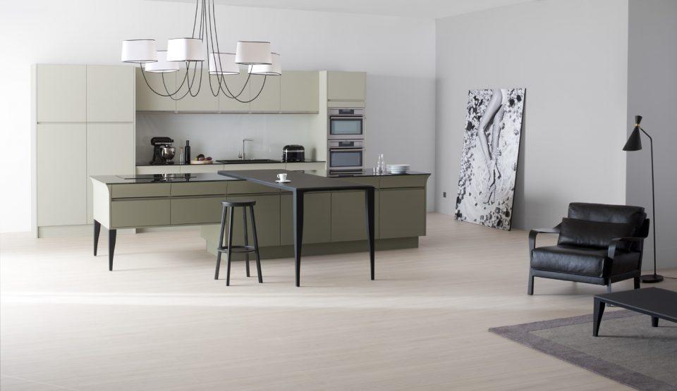 cuisine-vert-moderne-ouverte-design
