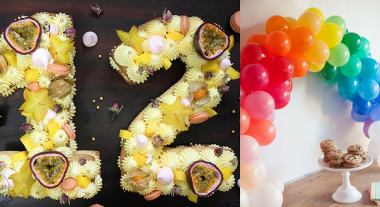 Le Top Des Gâteaux Et De La Déco Danniversaire Number Cake