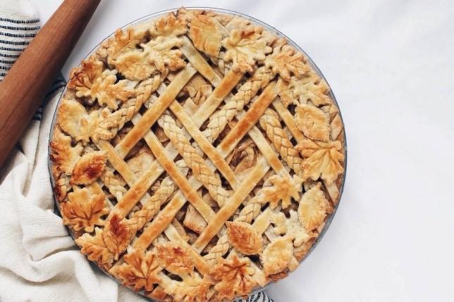 jolis decors tarte tarte graphique croisillons