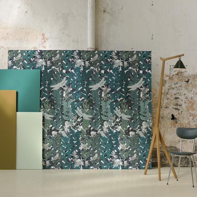 papier peint tendances 2018 2019 couleurs motifs i blog ma maison beko. Black Bedroom Furniture Sets. Home Design Ideas