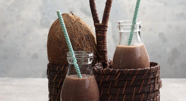 recette milkshake bon et sain blender chocolat