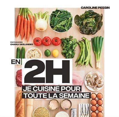 livre idee recette batch cooking