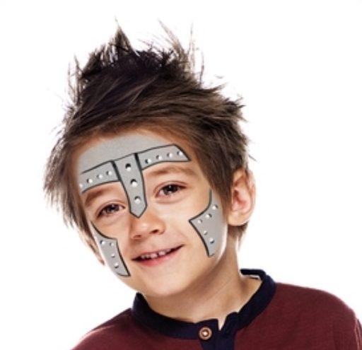 modele de maquillage de chevalier
