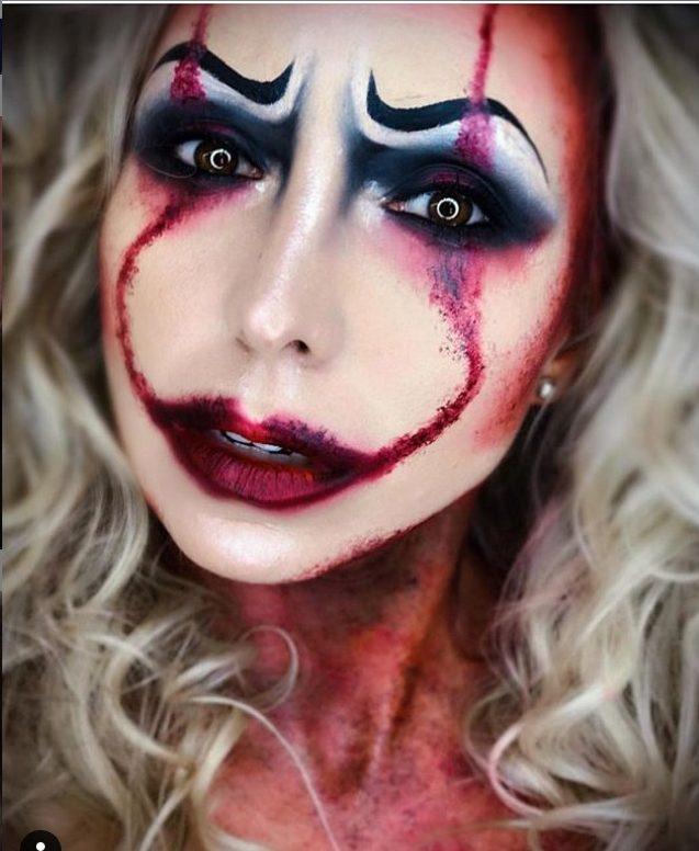 maquillage halloween original pour femme