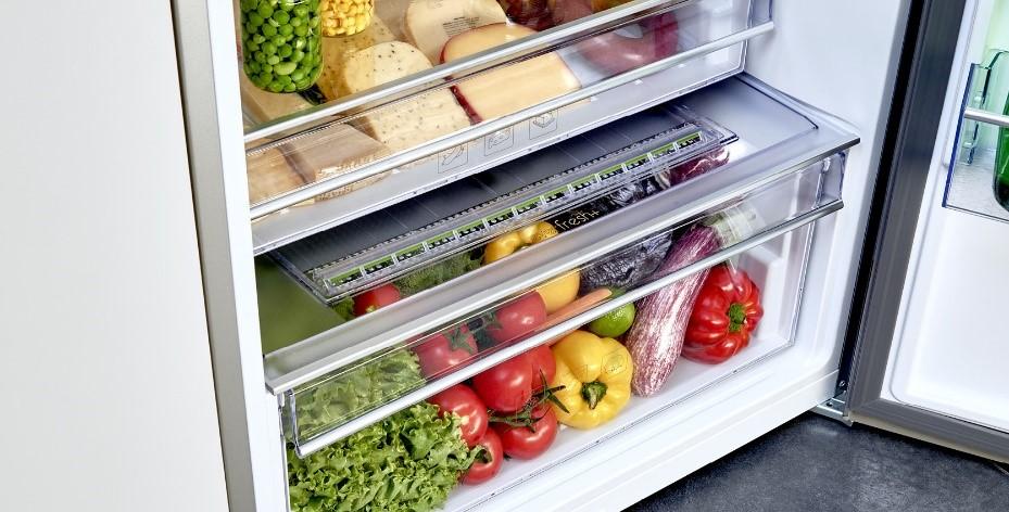 ranger legumes dans le frigo